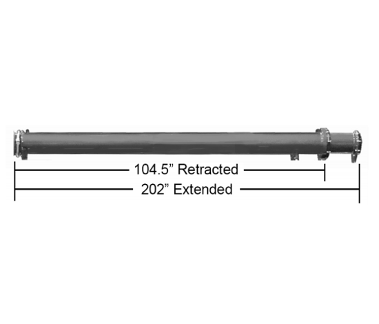Picture of Vactor® Style 2100 Telescoping Tube Assembly - U62034 - Parts