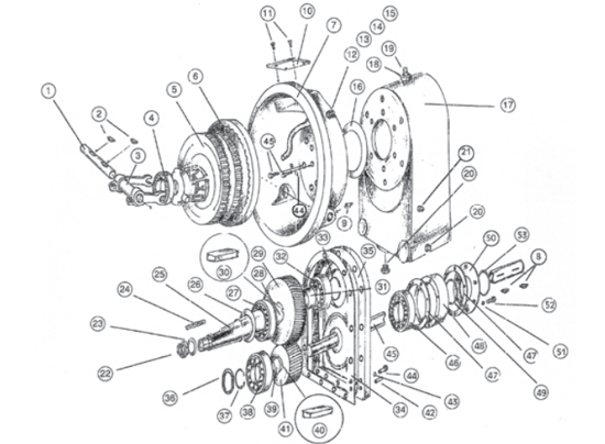 Picture of Transmission Complete without Clutch