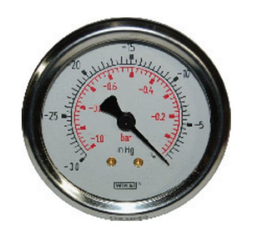 """Picture of 0-30"""" Vacuum Gauge"""