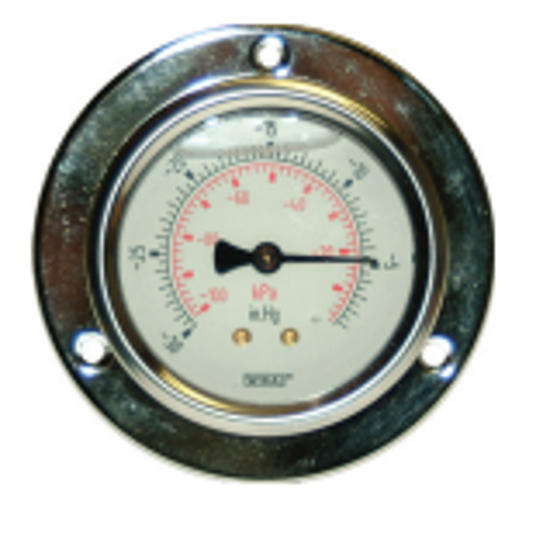 Picture of Front Panel Mount Vacuum Pressure Gauge