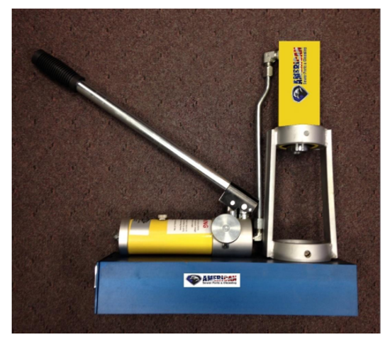 """Picture of Brutus Swage Machine – ¾"""" to 1-1/4"""" NPT"""